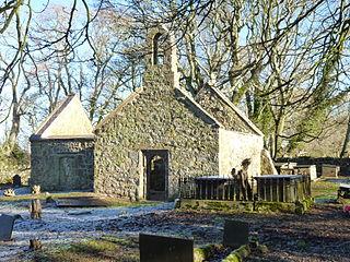 St Michaels Church, Llanfihangel Ysgeifiog Church in Anglesey, Wales