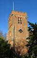 St Nicholas Church tower in Hurst (geograph 3761210).jpg