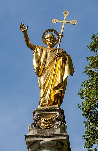 St Paul's Cross - Image: St Paul's cross, London, England, GB, IMG 5127 edit