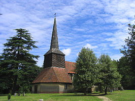 St Thomas the Apostle Church, Navestock Heath, Essex - geograph.org.uk - 25966.jpg