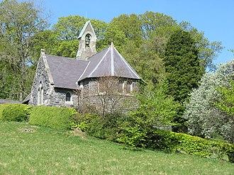 Llanwddyn - St Wddyn's Church, dating from 1888