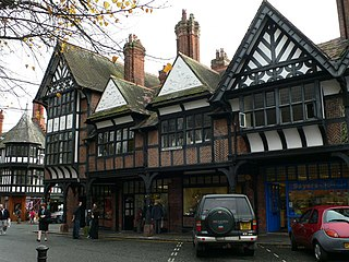 St Werburghs Mount, Chester grade II listed building in the United kingdom