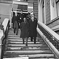 Staatsbezoek president Nyerere van Tanzania, aankomst president Nyerere in Amste, Bestanddeelnr 917-6717.jpg