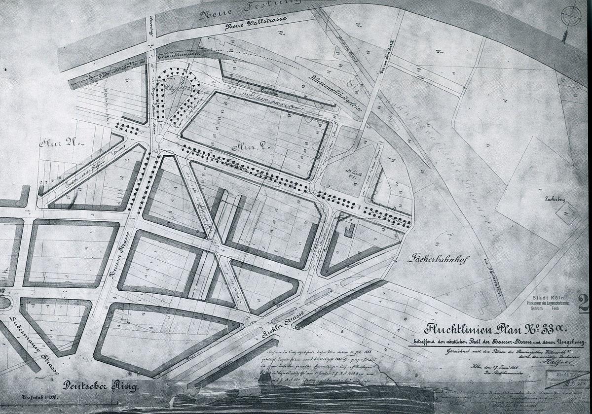 File Stadterweiterung Koln Nach Josef Stubben Karte 25 Jpg