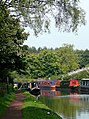 Staffordshire and Worcestershire Canal at Stewponey, Staffordshire - geograph.org.uk - 974294.jpg