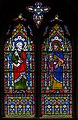 Stained glass window, St Andrew's church, West Deeping (18467838233).jpg