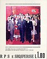 Stamp of Albania - 1980 - Colnect 360907 - Communists - by Vilson Kilica.jpeg