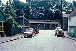 Stansted railway station (1970) 02.JPG