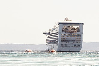 Star Princess - Star Princess near Split, Croatia; July, 3rd, 2011.