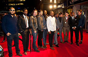 Starred Up - The cast and crew of Starred Up at its BFI London Film Festival premiere in October 2013