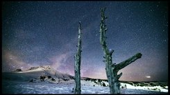 Податотека:Stars at night Mt. Hood Oregon USA. Time Lapse Video by Steven Koch Photography.webm