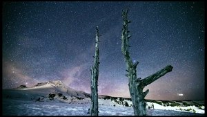 File:Stars at night Mt. Hood Oregon USA. Time Lapse Video by Steven Koch Photography.webm