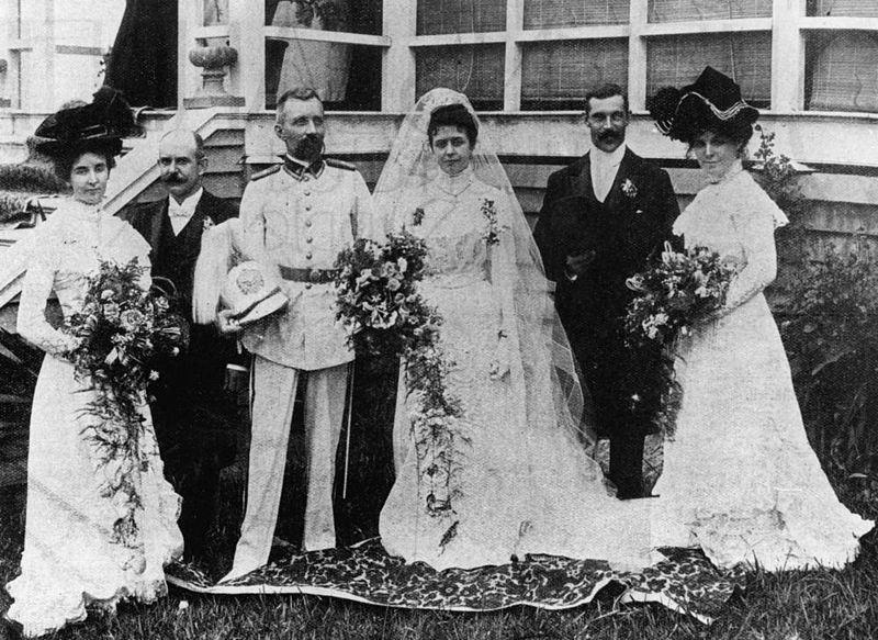 German wedding 1901.
