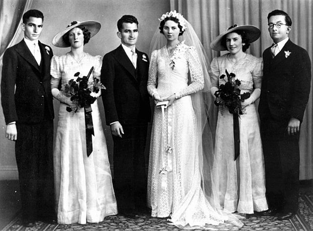 File Statelibqld 1 70259 Marr Family Wedding 1940 1950