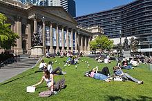 La Biblioteca dello Stato Victoria.