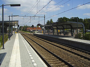 Twello railway station - Image: Station Twello