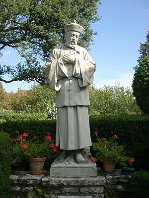 Prayer of St. John Gabriel Perboyre to Jesus - Statue of Saint John Gabriel Perboyre, priest and martyr