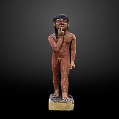 Statuette of Ptahneferti as a young boy-06.1881