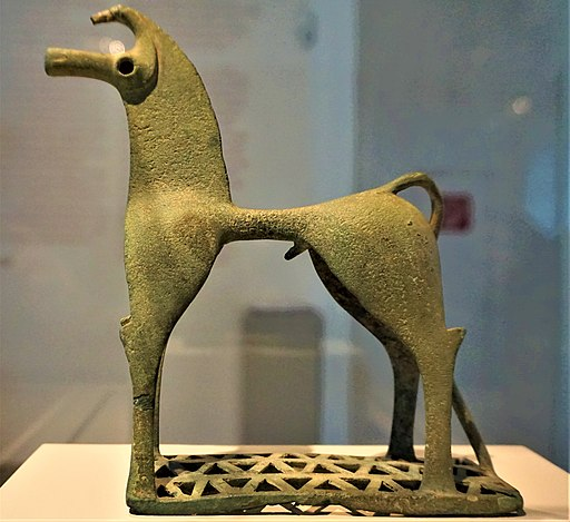 Statuette of a Horse in Geometric Style