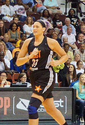 Stefanie Dolson - Stefanie Dolson at the 2015 All-Star game