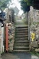 Steps and alley behind Albany Terrace, St Ives - geograph.org.uk - 1702938.jpg