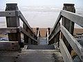 Steps to the Beach, Bulverhythe - geograph.org.uk - 526424.jpg