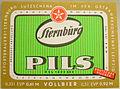 Sternburg Pils Etikett für 2 Flaschengroessen der Sternburger Brauerei.jpg