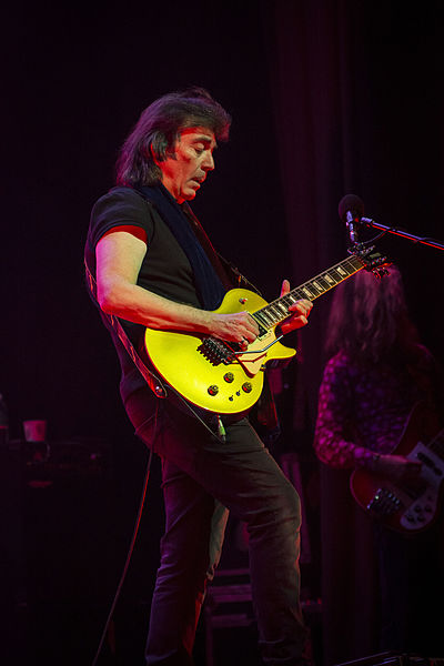 Picture of a band or musician: Steve Hackett