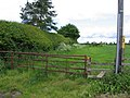 Stile, gate and field - geograph.org.uk - 174524.jpg