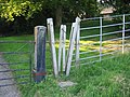 Stile at Shuckburgh Church - geograph.org.uk - 81482.jpg