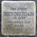 Stolperstein-Simon Birenbaum-Koeln-cc-by-denis-apel.jpg
