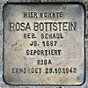 Stolperstein.Alt-Hohenschönhausen.Große-Leege-Straße 48.Rosa Bottstein.6201.jpg