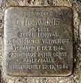 Stolperstein Danneckerst 6 (Frhai) Otto Kuhrts.jpg