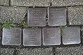 Stolperstein Duisburg 300 Mittelmeiderich Augustastraße 29 6 Stolpersteine.jpg