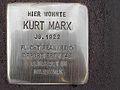 Stolperstein Eysseneckstraße 33 Kurt Marx.jpg