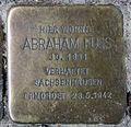 Stolperstein Fehrbelliner Str 81 (Mitte) Abraham Fuss.jpg