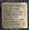 Stolperstein Friedrichstr 105 (Mitte) Johanna Schöneberg.jpg