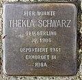 Stolperstein Heinrich-Roller-Str 10 (Prenz) Thekla Schwarz.jpg