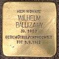 Stolperstein Kleve Kasinostraße 2 Wilhelm Ballizany.jpg