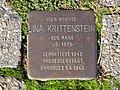 Stolperstein Lina Krittenstein, 1, Hufelandstraße 12, Bad Wildungen, Landkreis Waldeck-Frankenberg.jpg