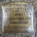 Stolperstein Lingen Gymnasialstraße 12 Henriette Flatow.jpg