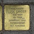 Stolperstein Querstraße 1 Lina Sander.jpg