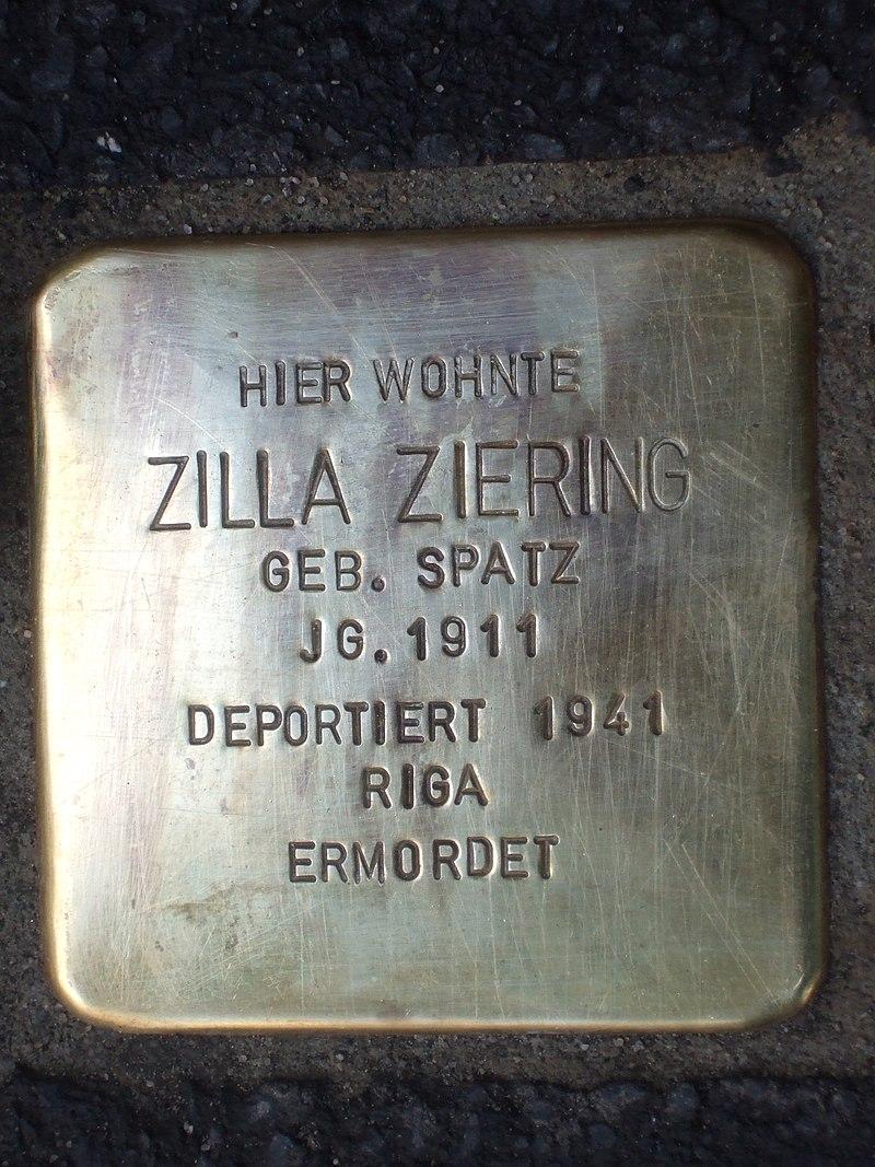 Stolperstein Zilla Ziering.jpg