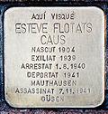 Stolperstein für Esteve Flotats Caus 1664-Peralta.jpg