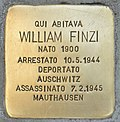 Stolperstein für William Finzi (Milano).jpg