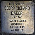 Stolpersteine Köln, Georg Richard Bader (Engelbertstraße 12).jpg