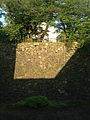 Stone wall of Kokura Castle near Matsumoto Seicho Memorial Museum.jpg