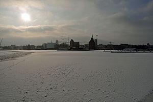 Stralsund, Hafen (2012-02-05), by Klugschnacker in Wikipedia.jpg