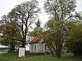Strazdes evaņģēliski luteriskā baznīca (Baltā baznīca), Strazdes pagasts, Talsu novads, Latvia - panoramio (1).jpg
