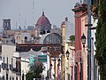 Street Scene in Historic Center - Queretaro - Mexico (44646424330).jpg